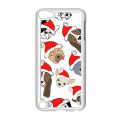Christmas Puppies Apple Ipod Touch 5 Case (white) by allthingseveryone
