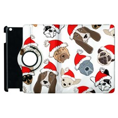 Christmas Puppies Apple Ipad 3/4 Flip 360 Case by allthingseveryone