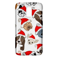 Christmas Puppies Galaxy S5 Mini by allthingseveryone