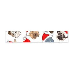 Christmas Puppies Flano Scarf (mini) by AllThingsEveryone