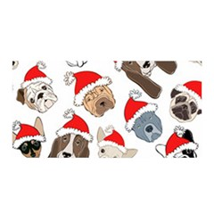 Christmas Puppies Satin Wrap by AllThingsEveryone