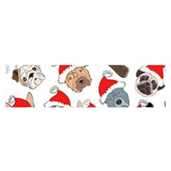 Christmas Puppies Satin Scarf (oblong) by allthingseveryone