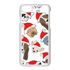 Christmas Puppies Apple Iphone 7 Seamless Case (white) by allthingseveryone