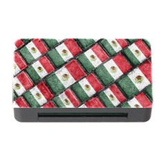 Mexican Flag Pattern Design Memory Card Reader With Cf by dflcprints