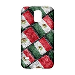 Mexican Flag Pattern Design Samsung Galaxy S5 Hardshell Case  by dflcprints