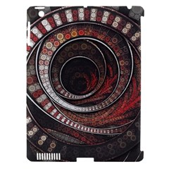 The Thousand And One Rings Of The Fractal Circus Apple Ipad 3/4 Hardshell Case (compatible With Smart Cover) by jayaprime