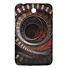 The Thousand And One Rings Of The Fractal Circus Samsung Galaxy Tab 3 (7 ) P3200 Hardshell Case  by jayaprime