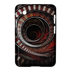 The Thousand And One Rings Of The Fractal Circus Samsung Galaxy Tab 2 (7 ) P3100 Hardshell Case  by jayaprime