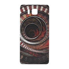 The Thousand And One Rings Of The Fractal Circus Samsung Galaxy Alpha Hardshell Back Case by jayaprime