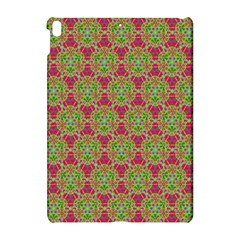 Red Green Flower Of Life Drawing Pattern Apple Ipad Pro 10 5   Hardshell Case by Cveti