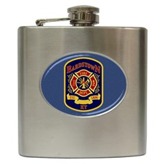 Fire Department Icon Hip Flask (6 Oz) by allthingseveryone