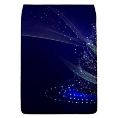 Christmas Tree Blue Stars Starry Night Lights Festive Elegant Flap Covers (s)  by yoursparklingshop
