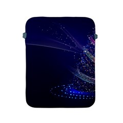 Christmas Tree Blue Stars Starry Night Lights Festive Elegant Apple Ipad 2/3/4 Protective Soft Cases by yoursparklingshop
