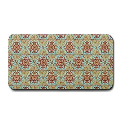 Hexagon Tile Pattern 2 Medium Bar Mats by Cveti