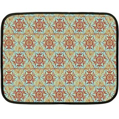 Hexagon Tile Pattern 2 Fleece Blanket (mini) by Cveti
