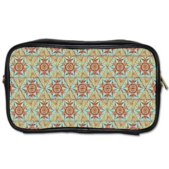 Hexagon Tile Pattern 2 Toiletries Bags 2 Side by Cveti