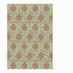 Hexagon Tile Pattern 2 Small Garden Flag (two Sides) by Cveti