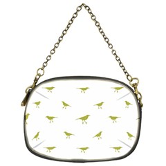 Birds Motif Pattern Chain Purses (one Side)
