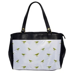 Birds Motif Pattern Office Handbags by dflcprints