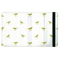 Birds Motif Pattern Apple Ipad 3/4 Flip Case by dflcprints
