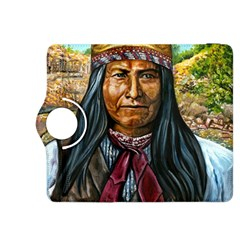 Apache Tribe Warrior Chiricahua Apache Tribe Kindle Fire Hdx 8 9  Flip 360 Case by allthingseveryone