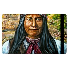 Apache Tribe Warrior Chiricahua Apache Tribe Apple Ipad Pro 9 7   Flip Case by AllThingsEveryone