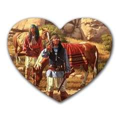 Apache Braves Heart Mousepads by allthingseveryone