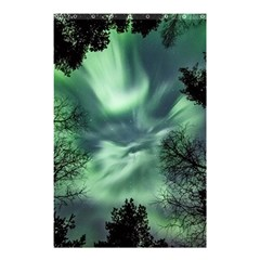Northern Lights In The Forest Shower Curtain 48  X 72  (small)  by Ucco