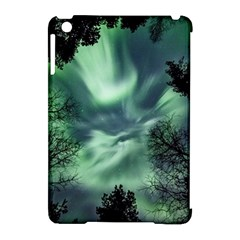 Northern Lights In The Forest Apple Ipad Mini Hardshell Case (compatible With Smart Cover)