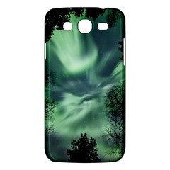 Northern Lights In The Forest Samsung Galaxy Mega 5 8 I9152 Hardshell Case  by Ucco