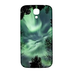 Northern Lights In The Forest Samsung Galaxy S4 I9500/i9505  Hardshell Back Case by Ucco