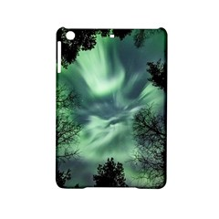 Northern Lights In The Forest Ipad Mini 2 Hardshell Cases by Ucco