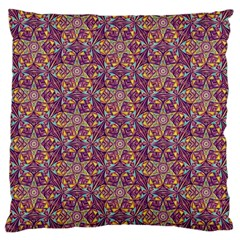 Flower Kaleidoscope 2 01 Large Cushion Case (one Side) by Cveti
