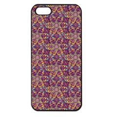 Flower Kaleidoscope 2 01 Apple Iphone 5 Seamless Case (black) by Cveti