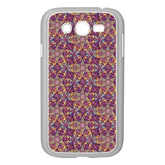 Flower Kaleidoscope 2 01 Samsung Galaxy Grand Duos I9082 Case (white) by Cveti
