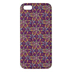 Flower Kaleidoscope 2 01 Iphone 5s/ Se Premium Hardshell Case by Cveti