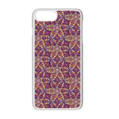 Flower Kaleidoscope 2 01 Apple Iphone 7 Plus Seamless Case (white) by Cveti