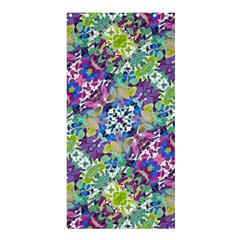 Colorful Modern Floral Print Shower Curtain 36  X 72  (stall)  by dflcprints