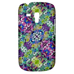 Colorful Modern Floral Print Galaxy S3 Mini by dflcprints