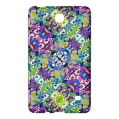Colorful Modern Floral Print Samsung Galaxy Tab 4 (8 ) Hardshell Case  by dflcprints