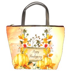 Happy Thanksgiving With Pumpkin Bucket Bags by FantasyWorld7
