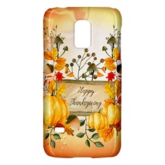 Happy Thanksgiving With Pumpkin Galaxy S5 Mini by FantasyWorld7