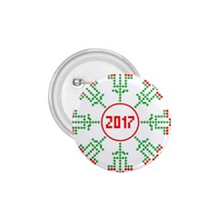 Snowflake Graphics Date Year 1 75  Buttons by Celenk