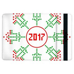 Snowflake Graphics Date Year Ipad Air Flip by Celenk
