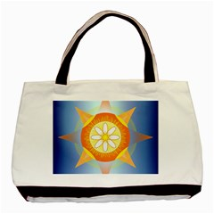 Star Pattern Background Basic Tote Bag by Celenk