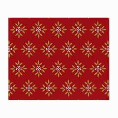 Pattern Background Holiday Small Glasses Cloth (2 Side) by Celenk