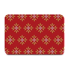 Pattern Background Holiday Plate Mats by Celenk