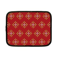 Pattern Background Holiday Netbook Case (small)  by Celenk
