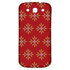 Pattern Background Holiday Samsung Galaxy S3 S Iii Classic Hardshell Back Case by Celenk