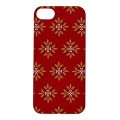 Pattern Background Holiday Apple Iphone 5s/ Se Hardshell Case by Celenk